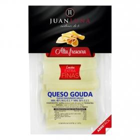 Queso gouda en lonchas extra finas Juan Luna 120 g.