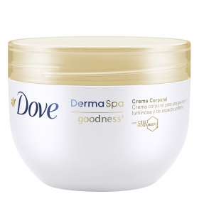 Crema corporal Dove-goodness 300 ml.