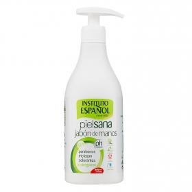 Jabón de manos piel sana
