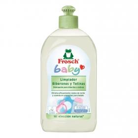 Limpiador de biberones y tetinas ecológico Frosch 500 ml.