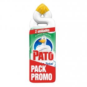 Limpiador de baño frescor en gel Pato pack de 2 unidades de 750 ml.