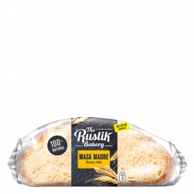 Hogaza de masa madre The Rustik Bakery 450 g.