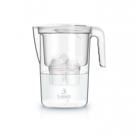 Pack Jarra de filtración de agua Vida 2,6 L. con 1 Filtro  Blanca