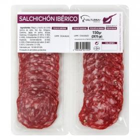 Salchichón iberico de cebo loncheado Los Plantios 150 g