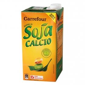 Bebida de soja Carrefour con calcio brik 1 l.