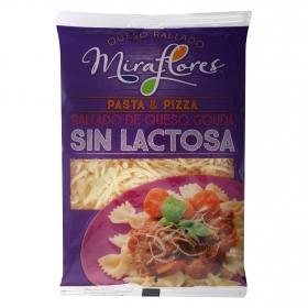 Queso rallado gouda Miraflores sin lactosa 150 g.