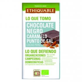 Chocolate negro y caramelo al punto de sal Bio