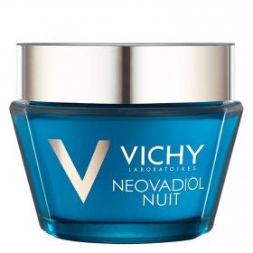 Crema de noche antiarrugas y reafirmante Neovadiol Vichy 50 ml.