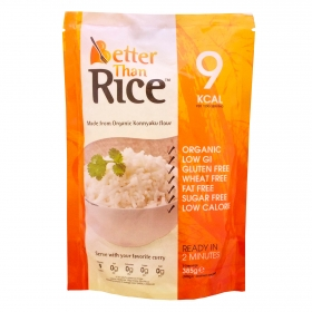 Arroz ecológico Better Than sin gluten 385 g.