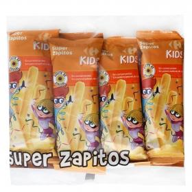 Aperitivo inflado de maiz Super Zapitos