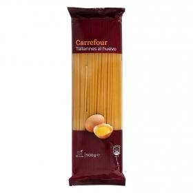 Tallarines al huevo Carrefour 500 g.