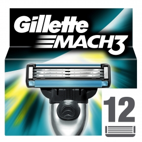Cargador para afeitar Gillette Mach3 12 ud.