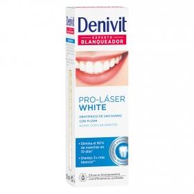 Dentífrico Pro-Láser White experto anti-manchas Denivit 50 ml.