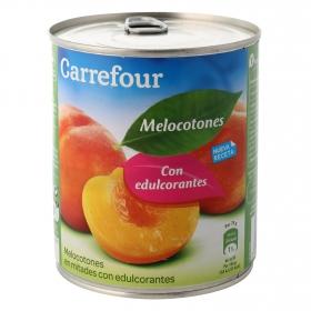 Melocotón con edulcorantes Carrefour 480 g.