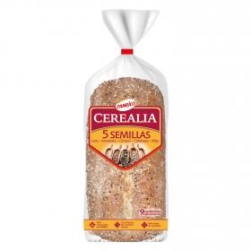 Pan de molde cerealia 5 semillas