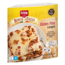 Lasaña original italiana con queso Schär sin gluten 300 g.