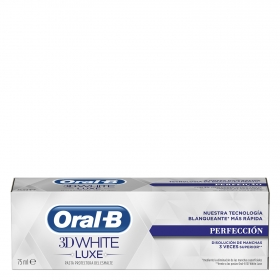 Dentífrico 3D White Luxe Perfección Oral-B 75 ml.