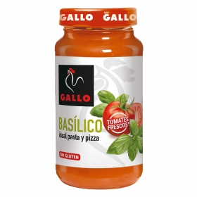 Salsa basílico ideal para pasta y pizza