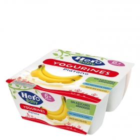 Yogurines de plátano