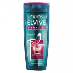 Champú Fibralogy para cabellos con poca densidad L'Oréal-Elvive 370 ml.