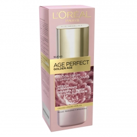 Loción hidratante embellecedora Age Perfect Golden Age L'Oréal 125 ml.