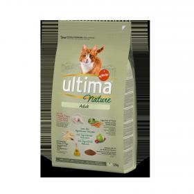 Ultima Nature Pienso para Gato Adulto Sabor pollo 1,25kg.