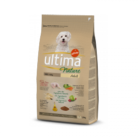 Ultima  Nature Pienso para Perro Adultos Mini Sabor Pollo 1,25kg.
