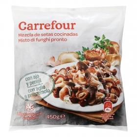 Mezcla de setas cocinadas con ajo y perejil Carrefour 450 g.