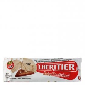 Postre a base de pasta de maní sin gluten
