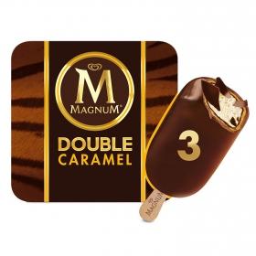 Bombón helado Double Caramel Magnum 3 ud.