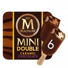 Helado bombón mini chocolate y caramelo