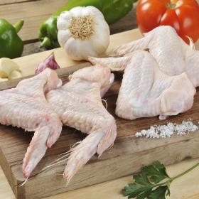 Alas de pollo bandeja familiar