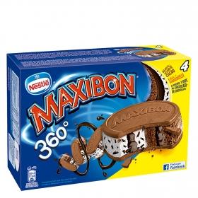 Sandwich de stracciatella y chocolate Maxibon
