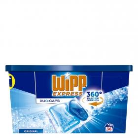 Detergente en cápsulas Duo Wipp Express 36 ud.
