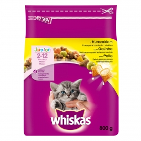 Whiskas Seco Junior de Pollo 800gr