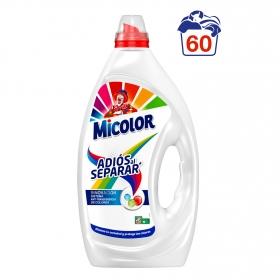 Detergente adiós al separar líquido Micolor 60 lavados.