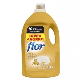 Suavizante concentrado oro y orquídea blanca Flor 156 lavados.