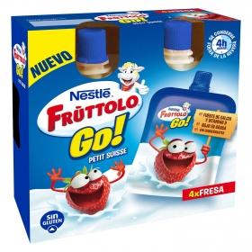Petit suisse líquido fresa