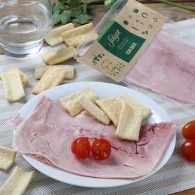 Jamón cocido ecológico loncheado Embutidos Salgot 80 g