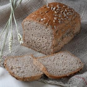 Pan eco cereales con pipas