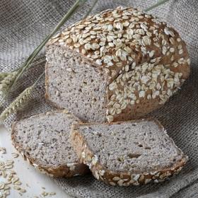 Pan eco cereales con avena