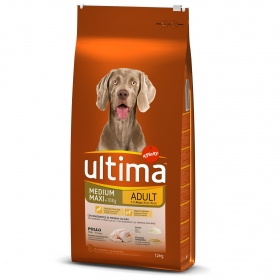 Alimento Perro Seco Ultima Medium Maxi Adulto Pollo
