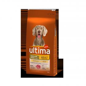 Ultima Pienso para Perro Medium - maxi Sabor buey 12kg.