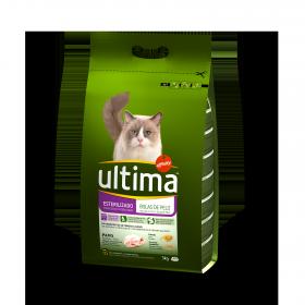 Alimento para Gato Control Bolas de Pelo y Esterilizados Pavo y Cereales