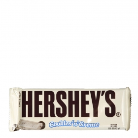 Chocolate blanco con cookies Hershyes 100 g.