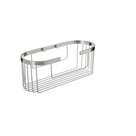 Cestillo de baño  de  Aluminio   11,5cm Metalizado