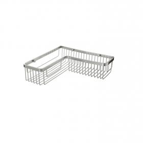 Cestillo de baño de Aluminio  12cm  Metalizado