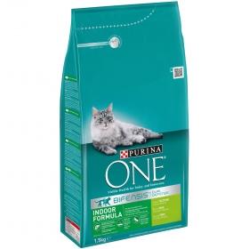 Purina ONE Bifensis Pienso para Gatos Esterilizados Pollo y Trigo 1,5Kg