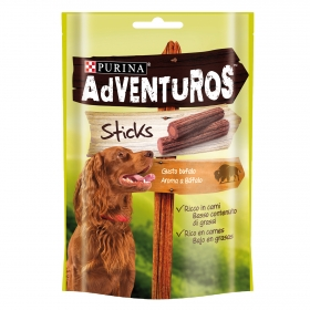 Purina Adventuros Snacks para Perros Sticks 120g