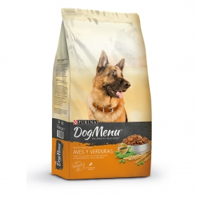 Purina Dog Menu Pienso para Perro Adulto Aves y Verduras 10Kg